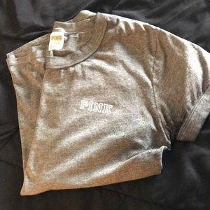 Pink Crew Neck T-Shirt
